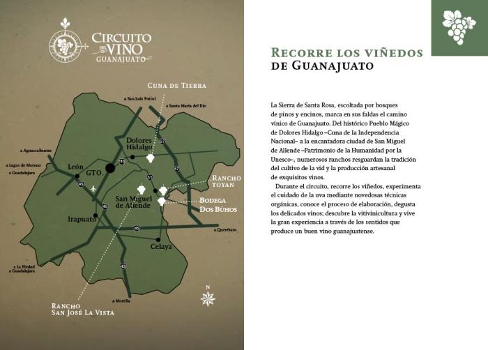 Circuito del Vino en Guanajuato